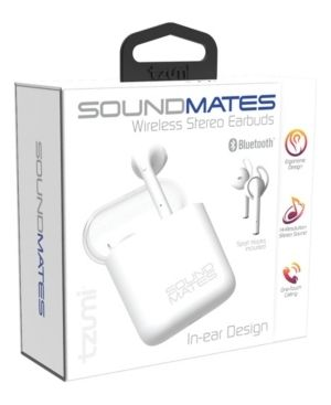 Tzumi Electronics Soundmates 5 0 Box Packaging with Flap