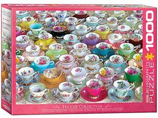 EuroGraphics Tea Cups 1000Piece Puzzle  6000 5314