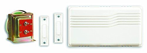 Heath Zenith Sl 27102 02 Doorbell Contractor Kit  White