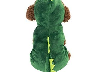 Dogs Clothes Small Pet Costume Halloween Dinosaur Costume Dog Clothing Puppy Outfits Funny Apperal  XS