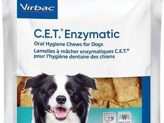 C e t  Enzymatic Oral Chews For Dogs 26 50lbs  30 Ct