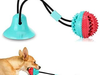 Dog Chew Toys for Aggressive Chewers  Puppy Dog Training Treats Teething Rope Toys for Boredom  Dog Puzzle Treat Food Dispensing Ball Toys for Dogs