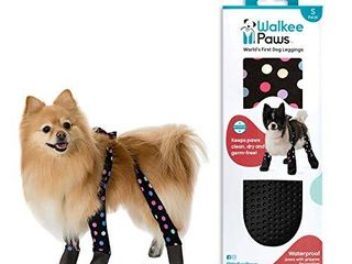 Walkee Paws Dog leggings  The World s First Dog leggings That are Dog Shoes  Dog Boots and Dog Socks All in One  Great for Protecting Your Pet  Skulls  Medium
