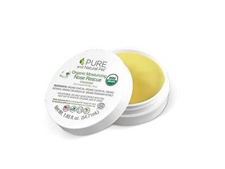 Pure and Natural Pet   Organic Moisturizing Nose Rescue 1 85 oz  White  PN208