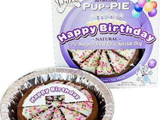 lazy Dog Pup PIE Happy Birthday for a Special Dog 6 Inch
