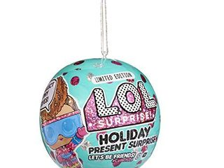 l O l  Surprise  Holiday Present Surprise Dolls with 7 Surprises Including Surprise Tiny Elves