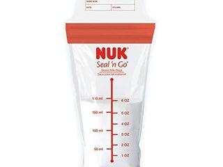 NUK Simply Natural Seal n  Go Breast Milk Bags  100CT