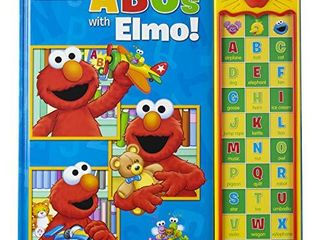 Sesame Street   ABCs with Elmo  30 Button Sound Book   PI Kids