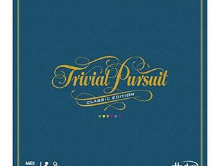 Hasbro Gaming Trivial Pursuit Game  Classic Edition