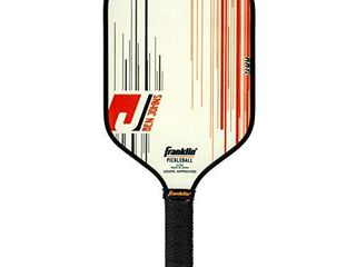 Franklin Sports Pro Pickleball Paddle   Pro Tournament Pickleball Paddle with Extra Grip MaxGrit Technology   Ben Johns Signature Pickleball Paddle 16mm