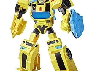 Transformers Bumblebee Cyberverse Adventures Battle Call Officer Class Bumblebee  Voice Activated Energon Power lights and Sounds  Ages 6 and Up 10 inch