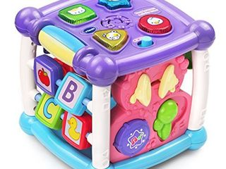 VTech Busy learners Activity Cube  Purple