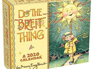Mary Engelbreit 2020 Day to Day Calendar  Do the Breit Thing