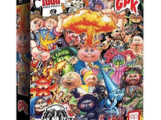 USAOPOlY Garbage Pail Kids Yuck 1000 Piece Jigsaw Puzzle   35th Anniversary of GPK   Officially licensed Garbage Pail Kids Merchandise   Collectible Puzzle Featuring Original GPK Favorites
