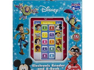 Disney   Mickey Mouse  Toy Story and More  Me Reader Electronic Reader 8 Book Sound library  PI Kids