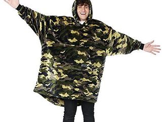 THE COMFY Dream   Oversized light Microfiber Wearable Blanket  One Size Fits All  Shark Tank