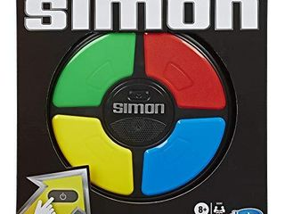 Simon Game  Electronic Memory Game for Kids Ages 8 and Up  Handheld Game with lights and Sounds  Classic Simon Gameplay