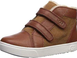 UGG baby girls Rennon Ii Sneaker  Chestnut  9 Toddler US