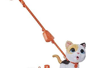 furReal Poopalots Big Wags Interactive Pet Toy  Connectible leash System  Ages 4 and Up