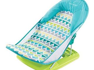 Summer Deluxe Baby Bather  Triangle Stripes  Bath Support for Use in the Sink or Bathtub Includes 3 Reclining Positions