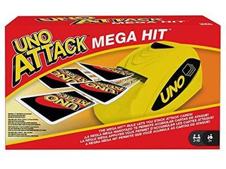 UNO  Attack Mega Hit Card Game with Card Shooter  Great for Kid  Adult or Family Game Night  7 Years and Older  Amazon Exclusive
