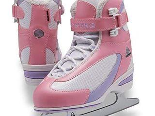 Jackson Ultima Softec Classic Junior ST2321 Kids Ice Skates   Pink  Size 2
