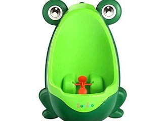 Soraco Frog Potty Training Urinal for Toddler Boys Toilet with Aiming Target   Green