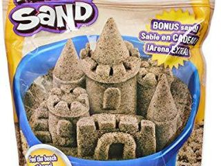 Kinetic Sand  3 25lbs Beach Sand for Squishing  Mixing and Molding  for Kids Aged 3 and Up  Amazon Exclusive