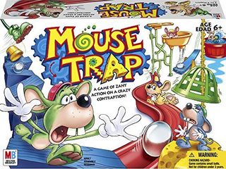 Hasbro Gaming Mouse Trap Board Game For Kids Ages 6 and Up  Amazon Exclusive