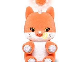 Fuzzible Friends Cubby The Fox Plush light Up Toy Works with Compatible Amazon Echo Devices for Interactive Activities and Sounds Amazon Exclusive