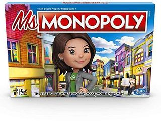 Monopoly Ms Monopoly Board Game for Ages 8   Up
