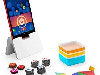 Osmo   Genius Starter Kit for Fire Tablet   5 Educational learning Games   Ages 6 10   Spelling  Math  Creativity   More   STEM Toy    Osmo Fire Tablet Base Included   Amazon Exclusive