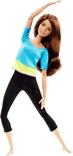 Barbie Made to Move Doll  Blue Top  Amazon Exclusive