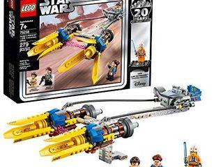 lEGO Star Wars  The Phantom Menace Anakin s Podracer 20th Anniversary Edition 75258 Building Kit  279 Pieces