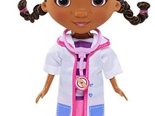 Doc McStuffins Toy Hospital Doc 8 5 Inch Articulated Doll with Doctor Accessories