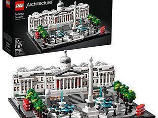 lEGO Architecture 21045 Trafalgar Square Building Kit  1197 Pieces