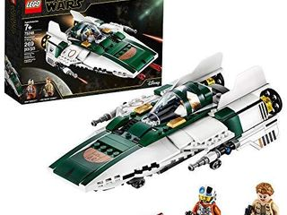 lEGO Star Wars  The Rise of Skywalker Resistance A Wing Starfighter 75248 Advanced Collectible Starship Model Building Kit  269 Pieces