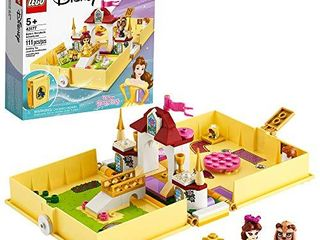 lEGO Disney Belle s Storybook Adventures 43177 Creative Building Kit Toy  New 2020  111 Pieces