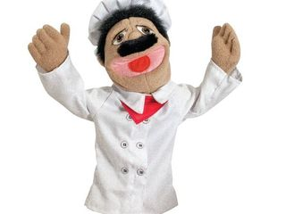 Melissa   Doug Chef Puppet With Detachable Wooden Rod