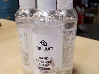 Pack of  4  Trillium Hand Sanitizer Spray