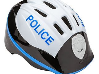 Schwinn Kids Bike Helmet with 3D Character Features  Infant and Toddler Sizes  Toddler  Police