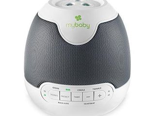 MyBaby  SoundSpa lullaby   Sounds   Projection  Plays 6 Sounds   lullabies  Image Projector Featuring Diverse Scenes  Auto Off Timer Perfect for Naptime  Powered by an AC Adapter
