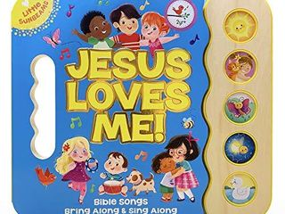 Jesus loves Me Songbook  Early Bird Sound Books   little Sunbeams