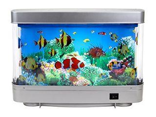 lightahead Artificial Tropical Fish Aquarium Decorative lamp Virtual Ocean in Motion  Marine life A