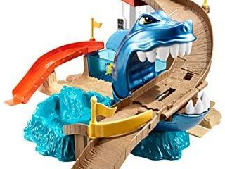 Hot Wheels Color Shifters Sharkport Showdown  Amazon Exclusive