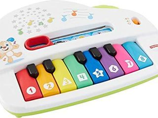 Fisher Price laugh   learn Silly Sounds light up Piano  Multicolored