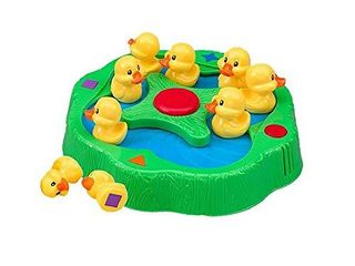 lucky Ducks   The Memory and Matching Game That Moves   Includes A Fun Pop The Pig Make A Match Card Game