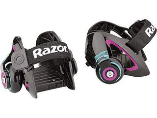 Razor Jetts Heel Wheels   Purple   FFP