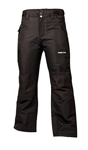 Arctix Kids Snow Pants with Reinforced Knees and Seat  Black  large