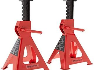 Amazon Basics Steel Jack Auto Stands  3 Ton Capacity  1 Pair